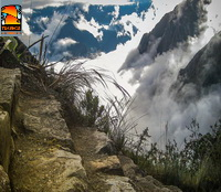 Inca Trail 5 days watch your step