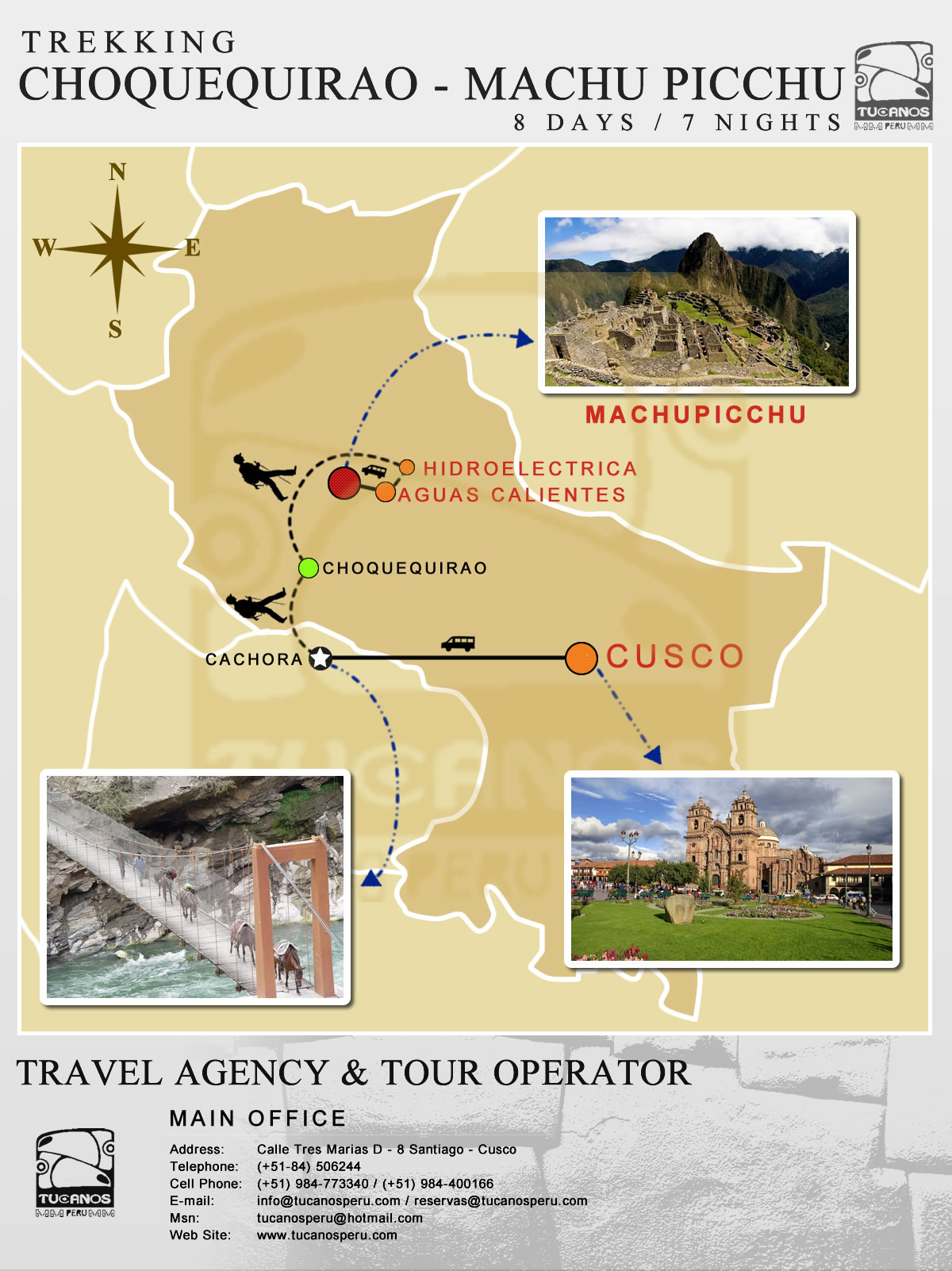 Choquequirao Trek - Machu Picchu 8 Days